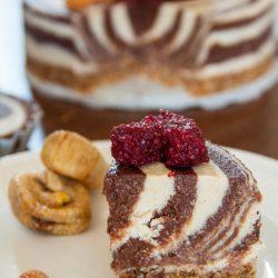 Sugar free zebra cake
